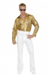 Gold Disco Shirt