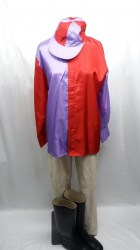 jockey purple red